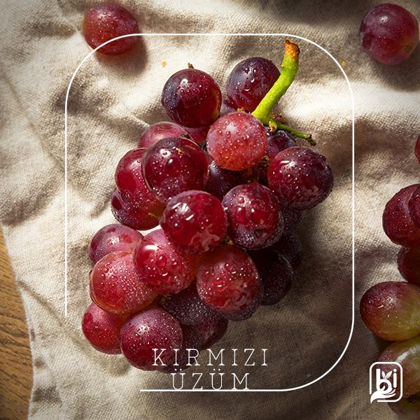 Kırmızı Üzüm (1kg)